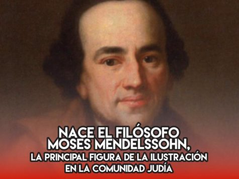 Moses Mendelssohn: 6 de septiembre