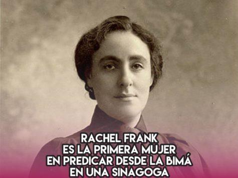 Rachel Frank y una prédica pionera