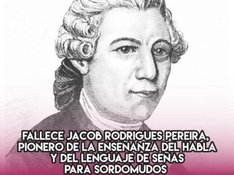 Jacob Rodrigues Pereira, pionero del lenguaje de señas