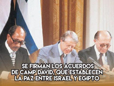 Los Acuerdos de Camp David: 18 de septiembre