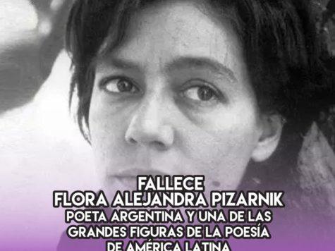 Alejandra Pizarnik: 25 de septiembre