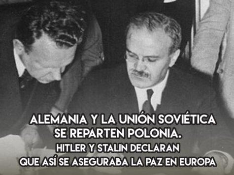 Hitler y Stalin contra Polonia