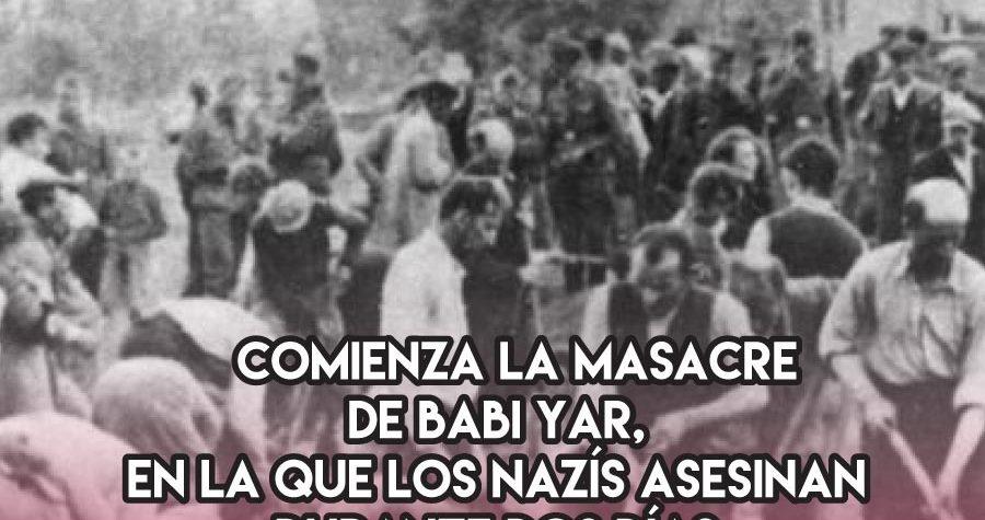 La masacre de Babi Yar