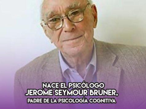 Jerome Seymour Bruner y la psicología cognitiva