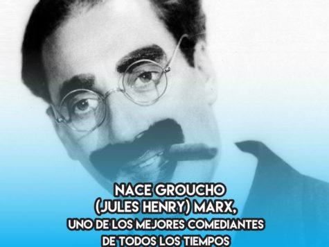 Groucho Marx: 2 de Octubre