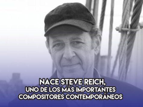 Steve Reich y la música minimnalista