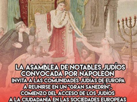 """El """"Gran Sanedrín"""" de Napoleón"""