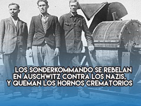 Rebelión de los Sonderkommando en Auschwitz