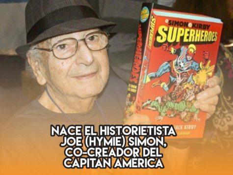 Joe Simon, padre del Capitán América y abuelo de Marvel