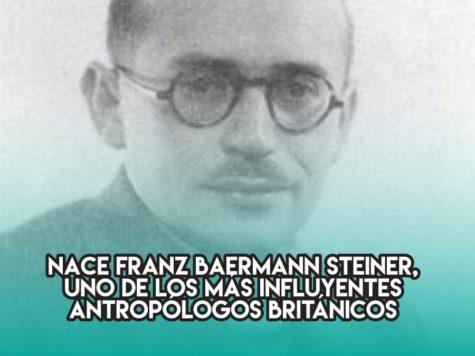 Franz Baermann y la antropología británica