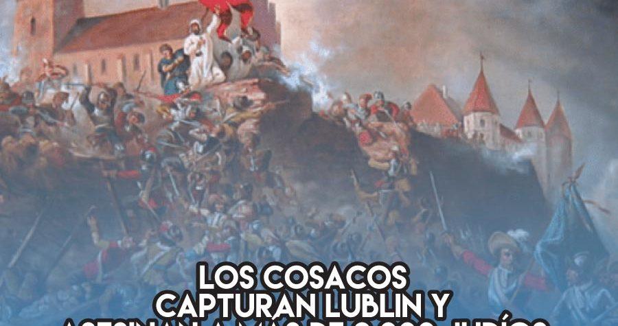 Pogrom cosaco en Lublin: 15 de Octubre