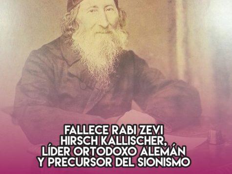 Zevi Hirsch Kallischer, precursor del sionismo