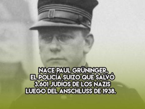 Paul Grüninger, Justo entre las Naciones