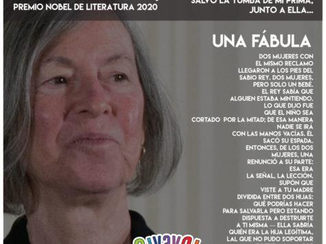 Una fábula de Louise Glück: poesía, psicoanálisis, midrash y Premio Nobel