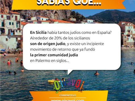 ¿Sabías que en Sicilia había tantos judíos como en España?
