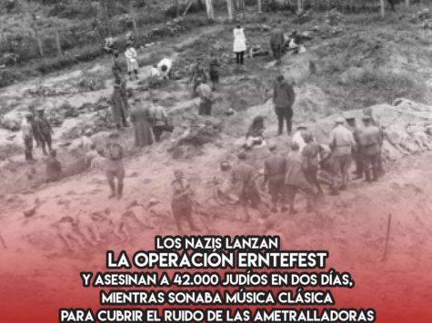 """Los nazis y la """"Operación Erntefest"""""""