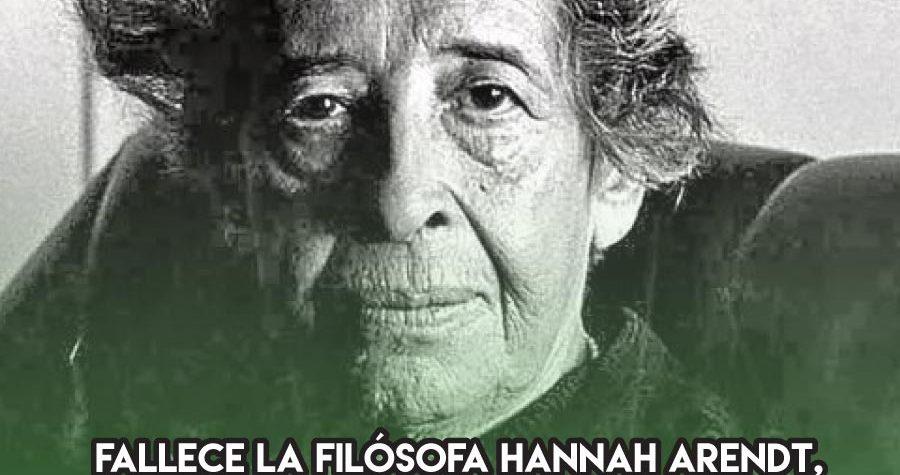 Hannah Arendt y el totalitarismo