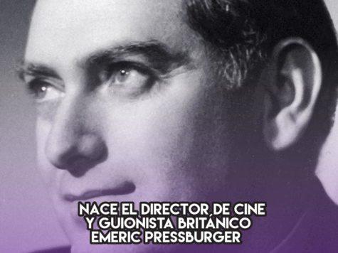Emeric Pressburger: 5 de diciembre