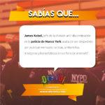 ¿Sabías que James Kobel, jefe de la división anti-discriminación de la policía de Nueva York acaba de ser despedido por publicar mensajes racistas, antisemitas, misóginos y homofóbicos en un foro de Internet?