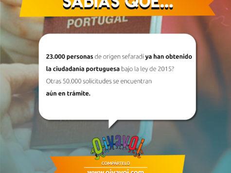 ¿Sabías que 23.000 personas de origen sefaradí ya han obtenido la ciudadanía portuguesa bajo la ley de 2015?