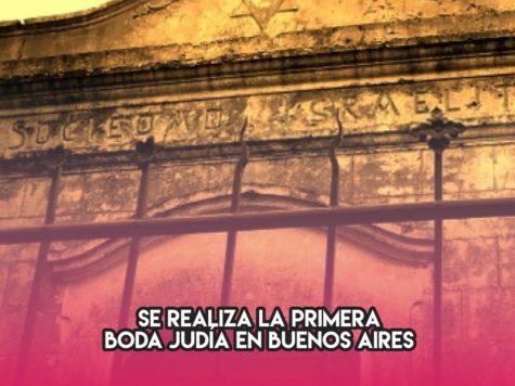 Primera boda en Buenos Aires