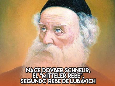 """El """"Mitteler Rebe"""" de Lubavich: 13 de noviembre"""