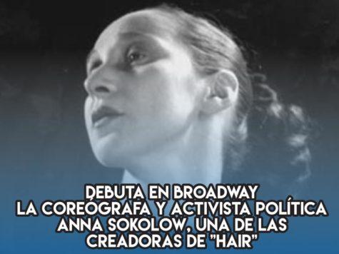 """Anna Sokolow y """"Hair"""""""