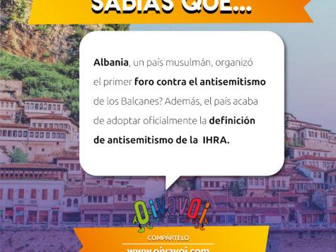 ¿Sabías que Albania, un país musulmmán, organizó el primer foro contra el antisemitismo de los Balcanes?