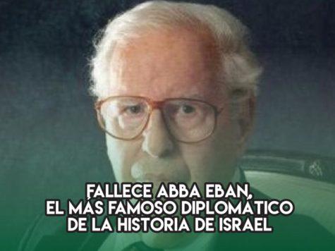 """Aba Eban, la """"Voz de Israel"""""""