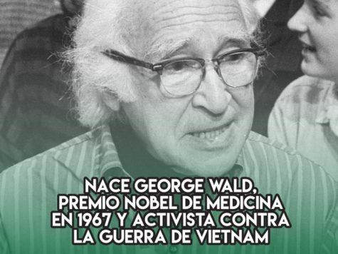George Wald, Premio Nobel de Medicina
