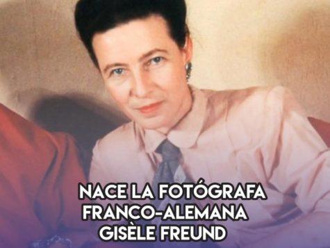 Gisèle Freund: 19 de diciembre