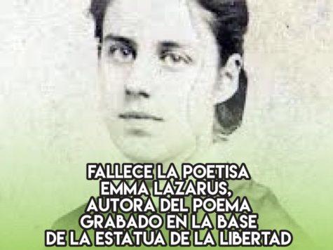 Emma Lazarus y la Estatua de la Libertad