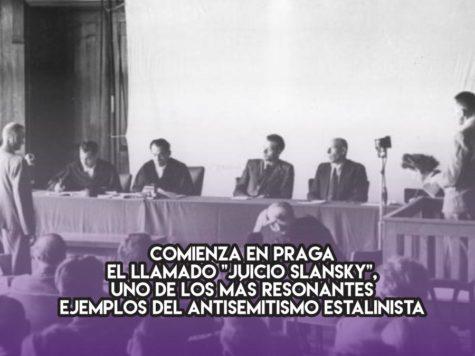 """El """"Juicio Slansky"""" y el antisemitismo estalinista"""