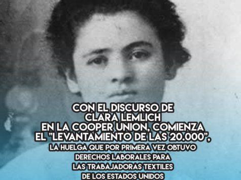 Clara Lemlich y el feminismo obrero