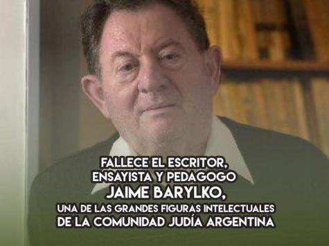 Jaime Barylko: 24 de diciembre