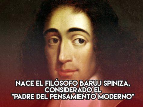 Baruj Spinoza: 24 de noviembre