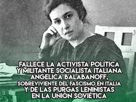 Angelica Balabanoff, socialismo a la italiana