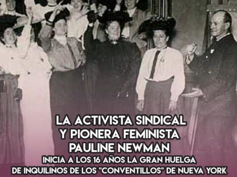 Pauline Newman, huelga y feminismo en el 1900