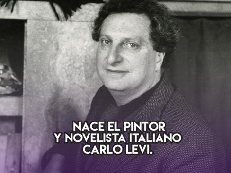Carlo Levi: 29 de noviembre