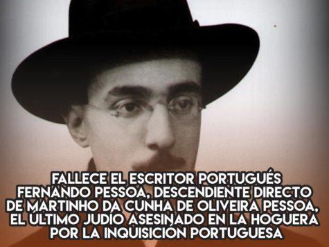 Fernando Pessoa, de la Inquisición a los heterónimos