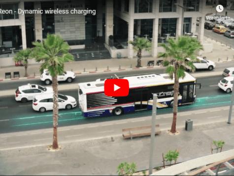 Tel Aviv: una carretera recarga los vehículos mientras circulan