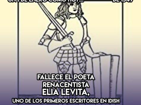 Elia Levita, pionero del idish