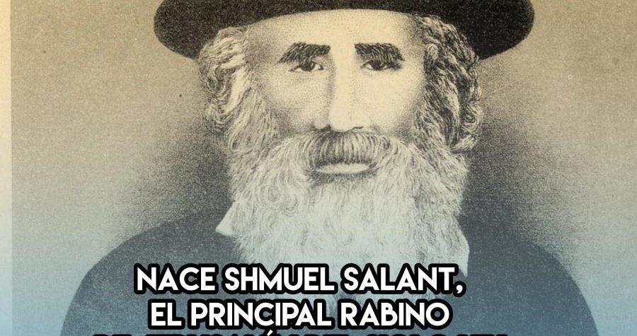 Shmuel Salant, un rabino en Jerusalem en el siglo XIX