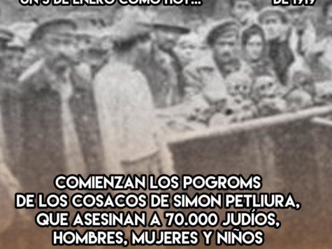 1919: los pogroms de Petliura