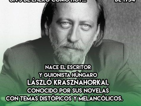 László Krasznahorkai: 5 de enero