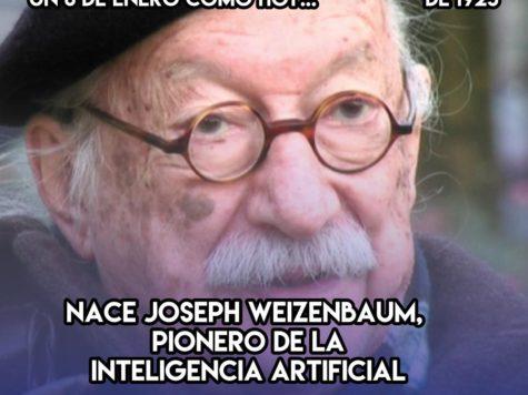 Joseph Weizenbaum, pionero de la inteligencia artificial