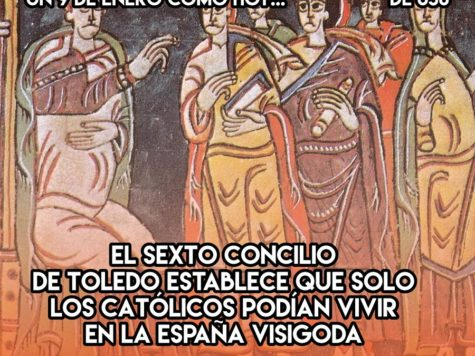 España visigoda, exclusiva para católicos