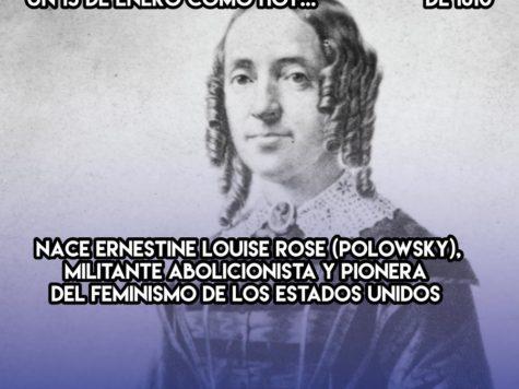 Louise Rose, pionera feminista