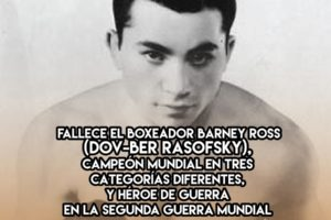 Barney Ross, triple campeón mundial de boxeo