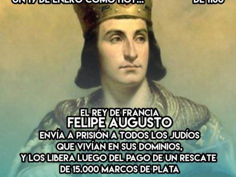 Felipe Augusto, el rey secuestrador